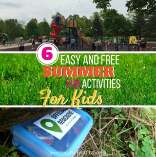 6 Easy and Free Summer Activities for Kids that the whole family will love!