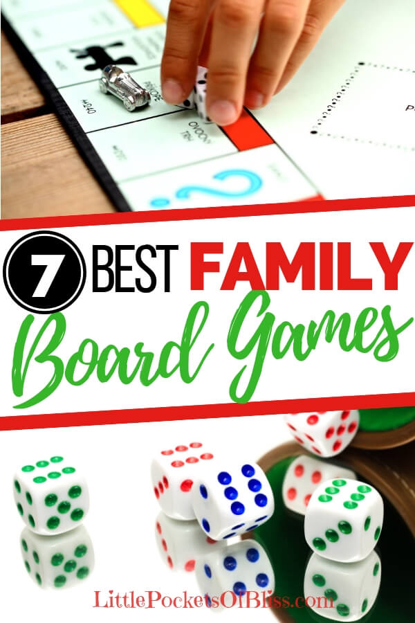 Looking for gift ideas for games to play with kids, adults, the whole family? Here's our top picks for Best Family Board games! Great for family game night, practice math skills and have fun! #boardgames #familygamenight #familyfun #bestgames #classicgames