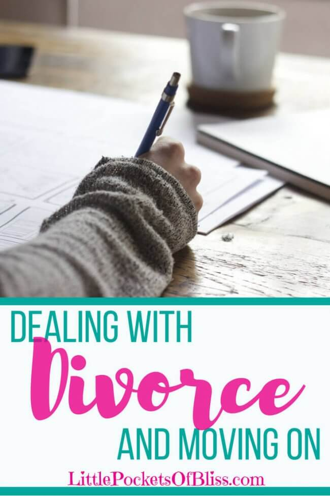 Dealing with divorce and moving on is tough but here are some tips to see you through
