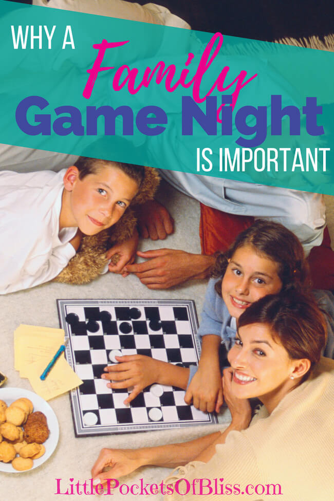 Why Starting a Family Game Night is so important for family, tips to get started, suggestions for games, and how to your Family Game Night up a notch! #familygamenight #boardgames #funforkids #familyfun #familytime