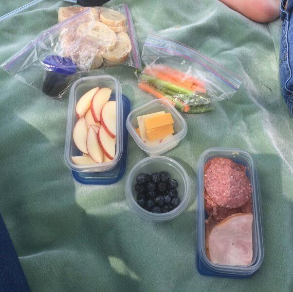 Packing a picnic lunch can help kids eat more fruits and veggies