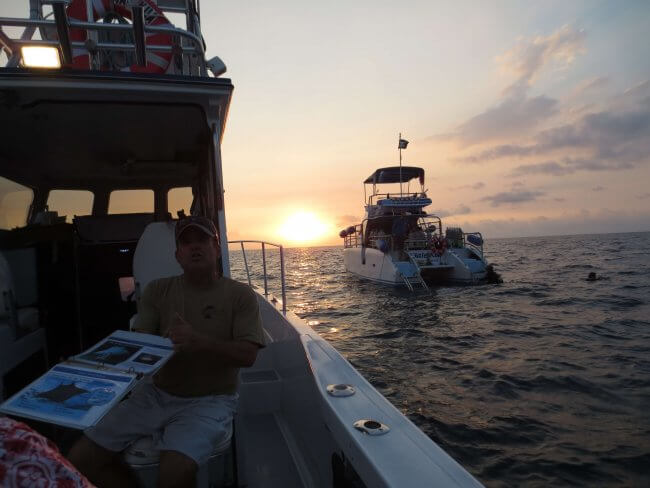 Snorkel With Mantas Safety Briefing at Sunset