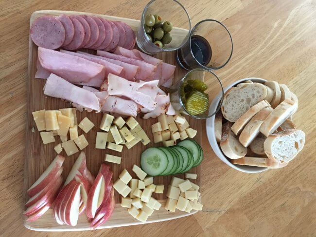 simple meat and cheese board easy summer meal ideas