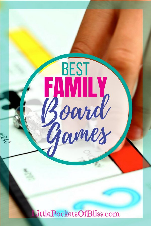 Looking for ideas for games to play with kids, adults, the whole family? Here's our top picks for Best Family Board games! Great for family game night, practice math skills and have fun! #boardgames #familygamenight #familyfun #learninggames #classicgames