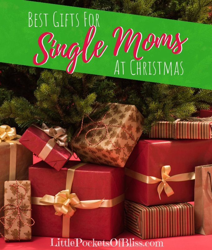 Need gifts for single moms? Here's the best ideas for gifts in the kitchen, cleaning, pampering, relaxing and learning. Christmas, birthdays, Mother's Day. #singlemomgifts #giftsformom