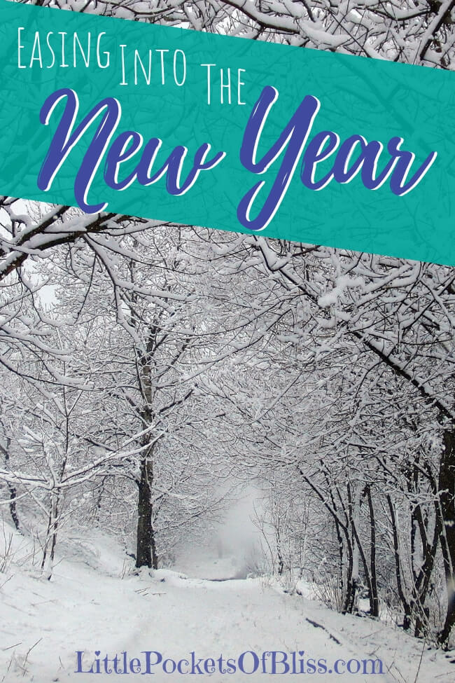 Christmas may be over, but now there's pressure to make New Year's Resolutions!  Why not try easing into the New Year and give yourself the gift of time?  Journal, create, explore where you are and what you want from next year. #newyearsresolutions #easingintothenewyear #newyearstress