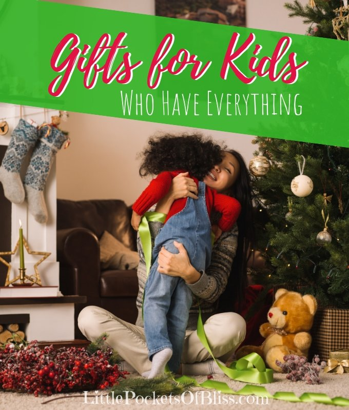 What do you get for gifts for kids who have everything? Who wants more clutter? Try giving the gift of experiences instead with these ideas. #giftsforkids #experiencegifts #ruleoffour