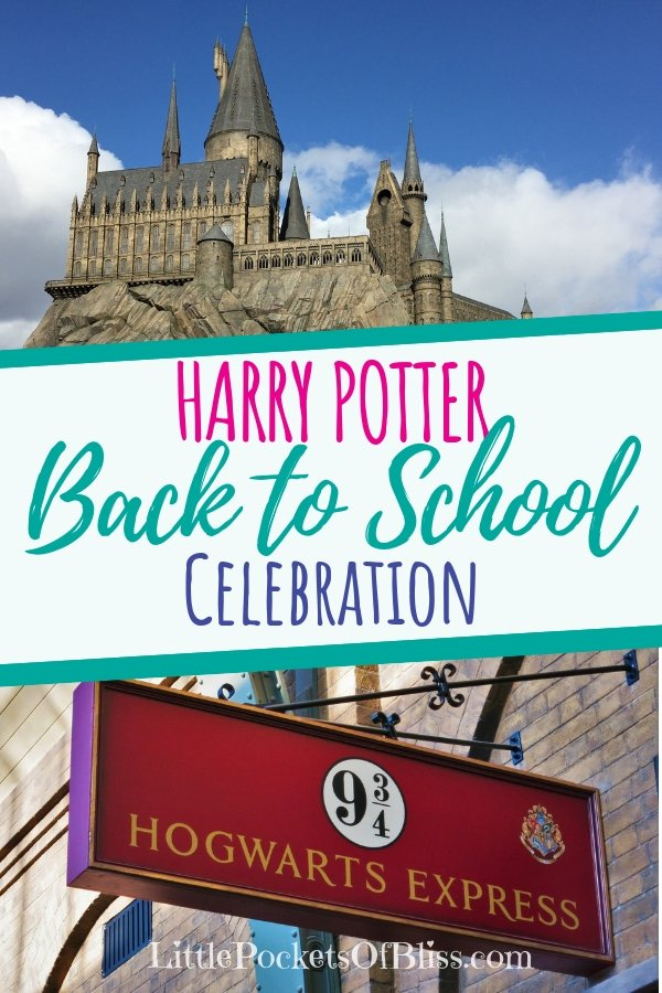 Want some Harry Potter back to school ideas? Ways to celebrate and introduce your kids to Harry Potter books and movies? How about recipes for Butter Beer? Even teachable moments for your kids? Here's how! #harrypotter #backtoschool #celebrateharrypotter #harrypotterbooks #butterbeer #harrypotterideas