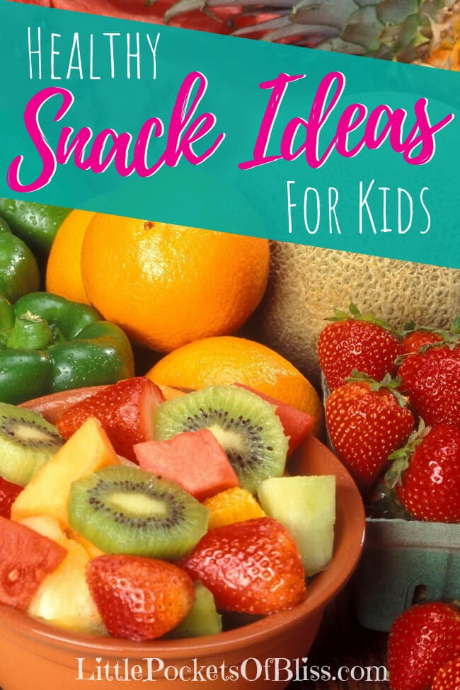 Looking for healthy snacks for kids?  Try some of these ideas and recipes for after school snacks, meals on the go, school lunches and more! #healthysnacks #healthykids #kidssnacks