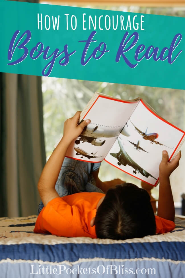 Getting boys to read is not always easy. It's not necessarily that they can't read.  Try these strategies on how to encourage boys to read! #boyreaders #gendergapinreading #bookishboys