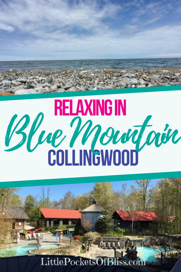 Relaxing in Blue Mountain, Collingwood.  Scandinave Spa, Craigleith Manor B&B, Thornbury, restaurants, rest and rejuvenation #scandinave #bluemountain #collingwood #craigleithmanor #selfcare