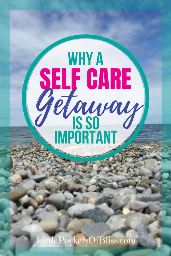 Self Care Getaway is a good way to prioritize you, dear mom, when you are frazzled, frustrated and at the end of your rope. Ideas, activities and inspiration for affordable solo retreats for a weekend to help you rest, recharge and renew the supermom in you! #selfcaregetaway #selfcare #momlife #wellness #soloweekend