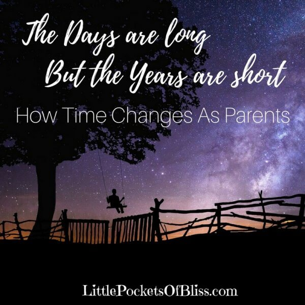 The days are long but the years are short. Never was a quote more apt. When you are juggling babies, cooking, cleaning, working, but then suddenly you blink, and they are grown and gone.